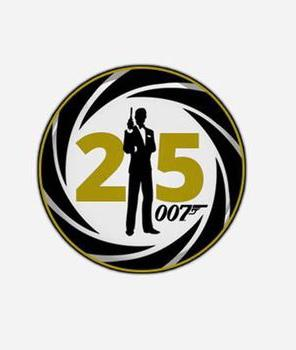 25th James Bond illusration