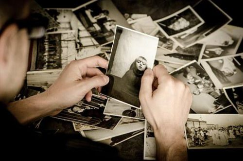 Memory Lane, Old photos being inspected