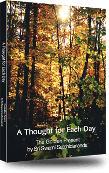 Cover of A Thought for Each Day, The Golden Present by Swami Satchidananda