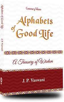 Alphabets for Good Life by J.P. Vaswani cover
