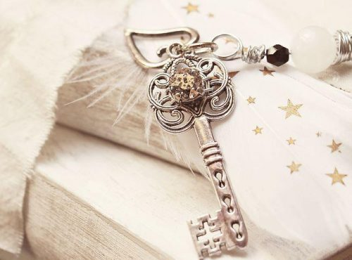 Ornate vintage key