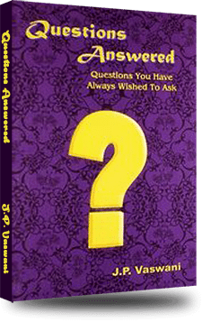 Cover of the book Questions Answered by Dada J.P. Vaswani
