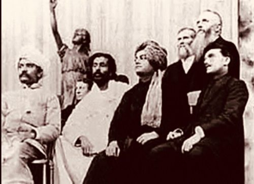 swami vivekananda at the Parliament of World Religions