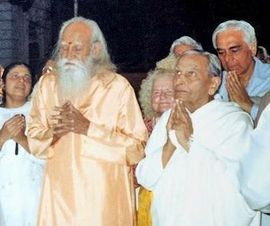 Swami Satchidananda and JP Dada Vaswany