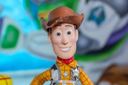 Sheriff Woody toy