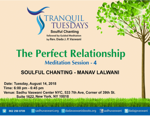 tranquil-tuesdays-August 14, 2018 Perfect Relationship
